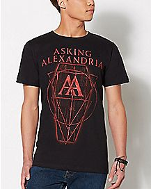 Coffin Asking Alexandria T Shirt