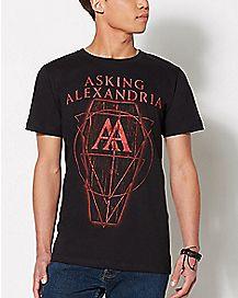 Coffin Asking Alexandria T Shirt