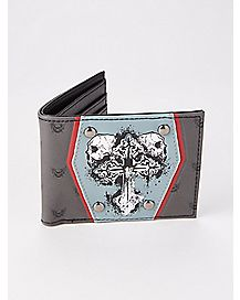 Skulls and Cross Bifold Wallet