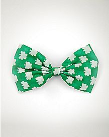 Shamrock St. Patrick's Day Hair Bow