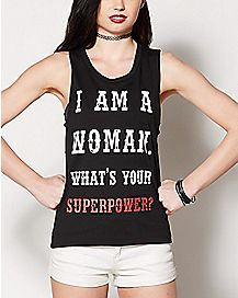 I Am A Woman Tank Top