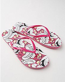 Cheshire Cat Flip Flops