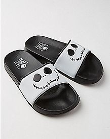 Nightmare Before Christmas Jack Skellington Slide Sandals