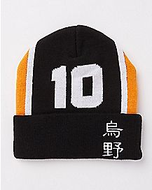 Number 10 Beanie Hat - Haikyu!!
