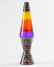 Colormax Mandala Lava Lamp - 17 Inch