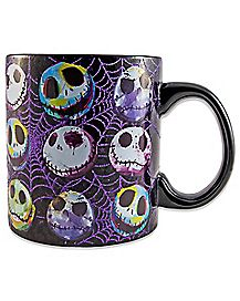 Jack Glitter Mug 20 oz - Nightmare Before Christmas