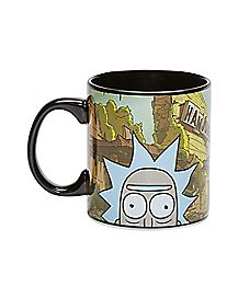 Rick and Morty Mug - 20 oz