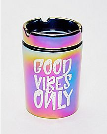 Good Vibes Only Ashtray Storage Jar - 6 oz.