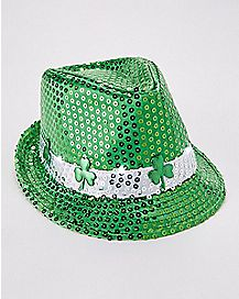 St. Patrick's Day Light Up Fedora Hat