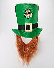 Saint Patrick's Day Hat with Beard