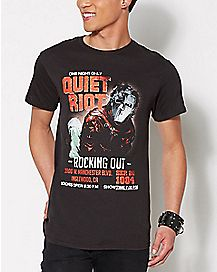 Quiet Riot Rocking Out T Shirt