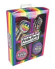Rainbow Pride Cupcake Kit
