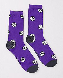 Jack Skellington Crew Socks - Nightmare Before Christmas