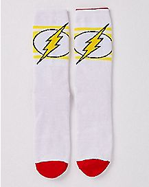 Reversible The Flash Crew Socks - DC Comics
