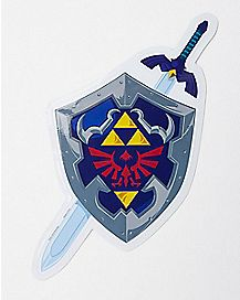 Zelda Shield Car Decal