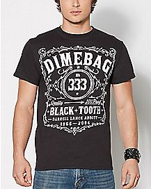 Whiskey Dimebag Darrel T Shirt
