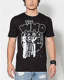 3D Logo The Who T Shirt
