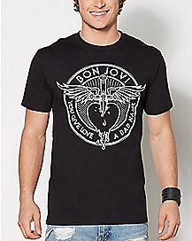 You Give Love A Bad Name Bon Jovi T Shirt