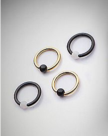 Captive Rings - 16 Gauge