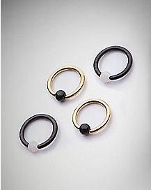 Captive Rings - 16 Gauge