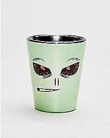 Stoned Alien Shot Glass - 1.5 oz.