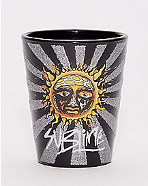 Glitter Sun Sublime Shot Glass - 1.5 oz.