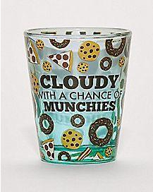 Cloudy Munchies Shot Glass - 2 oz