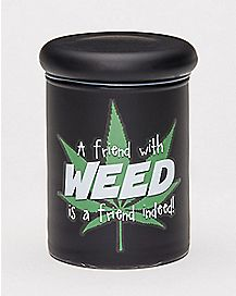 A Friend With Weed Storage Jar - 3 oz.