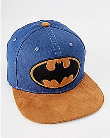 Denim Batman Snapback Hat - DC Comics