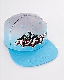 Ombre Kanji Batman Snapback Hat - DC Comics