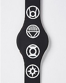 Logo Blackest Night LED Watch