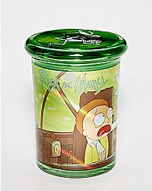 Drinking Rick And Morty Storage Jar - 12 oz.