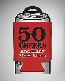 50 Cheers and Beers Huggie