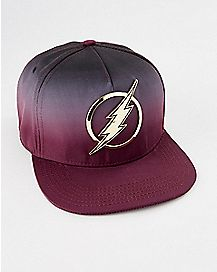 Ombre The Flash Snapback Hat - DC Comics