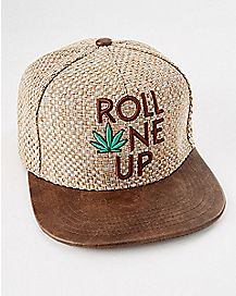 Roll One Up Snapback Hat