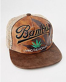 Living The High Life Snapback Hat
