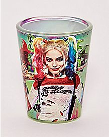 Harley Quinn Suicide Squad Shot Glass 1.5 oz - DC Comics