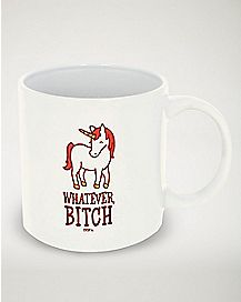 Whatever Bitch Unicorn Mug - 20 oz.