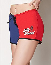 Hey Puddin Harley Quinn Shorts - Suicide Squad