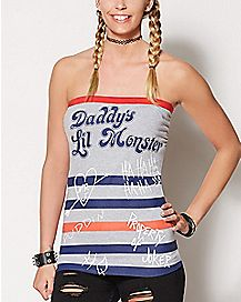 Daddy's Lil Monster Tube Top - Suicide Squad