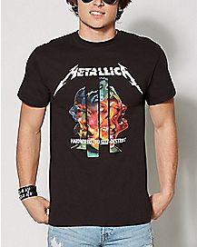 Hardwired to Self-Destruct Metallica T Shirt