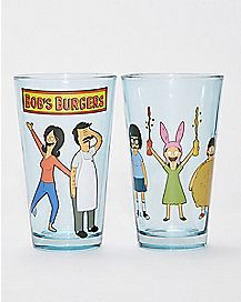 Bob's Burgers Pint Glass 2 Pack