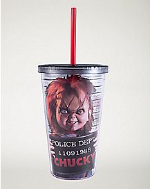 Chucky Cup With Straw - 16 oz.