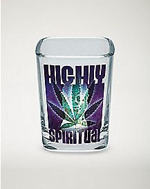 Highly Spiritual Shot Glass - 2.25 oz
