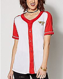 Wonder Woman Baseball Jersey - DC Comics