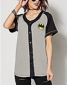 Batman Baseball Jersey - DC Comics