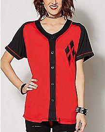 Harley Quinn Jersey T Shirt - DC Comics