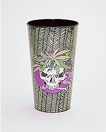 Leaf Skull Cup