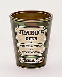 Jimbo's Guns Shot Glass 1.5 oz. - South Park