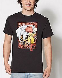 One Punch Man Fist T Shirt